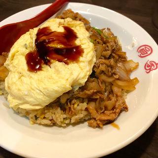 玉子特製チャーハン(肉+ふわトロ玉子のせ)(圓家  (エンヤ))