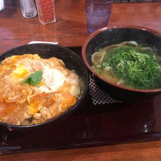 カツ丼セット(うどん大文字)