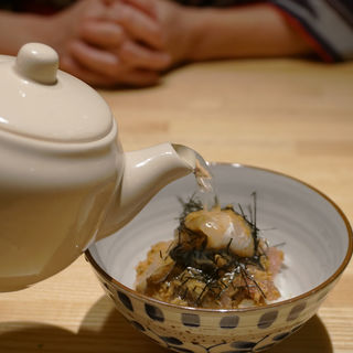海鮮茶漬け(炭火・焼き鳥 鶫(つぐみ) 中洲川端店)