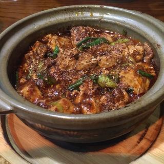 飛騨牛ミンチの麻婆豆腐(錦水苑)