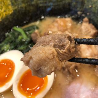 豚ハラミニンニク醤油煮