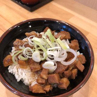 焼豚丼(横浜ラーメン 北村家)