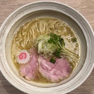 魚介鶏そば(塩)(MENYA BIBIRI)