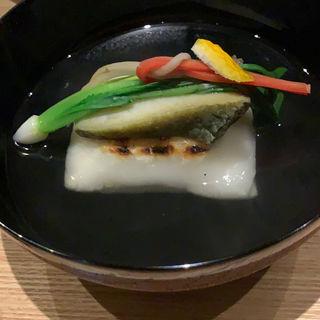 餅唐墨入りお吸い物(井本)