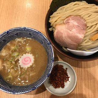 赤辛つけめん(大)(舎鈴 新宿西口店)