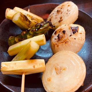 野菜焼き(クシヤキ酒場ヤリキ 上野総本店)
