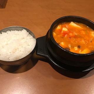 ズンドゥブチゲ(ご飯付き)(親庭 )