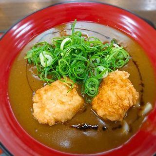 赤赤鶏カレーうどん(香芝サービスエリア上り線)