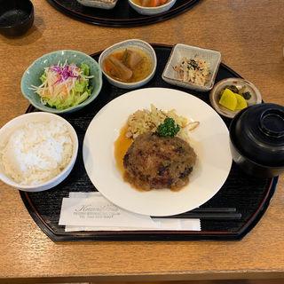 ハンバーグステーキ御膳180g(レストランkawashima)