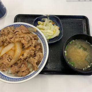 牛丼アタマ大盛りBセット