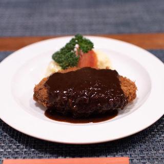メンチカツレツ(洋食屋 ワタナベ)