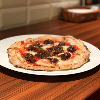 和牛味噌煮込みPizza(SAVOY 名古屋栄本店)