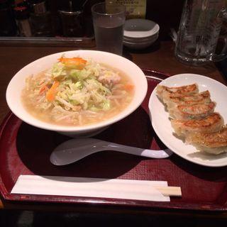 タンメン 餃子