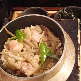 鶏の釜飯(居酒屋 かまどか 池上店 )