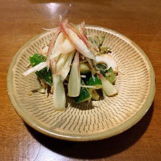 みょうがときゅうりの梅冷菜(豊前房 )