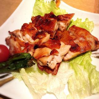 鶏もも肉炭火胡椒焼(ひつまぶし名古屋備長)
