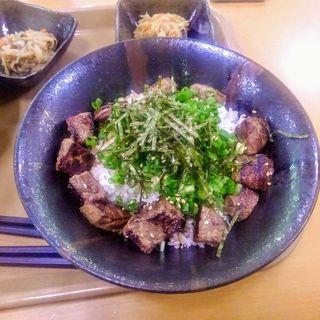 中落ちステーキ丼(陸奥屋 (ミチノクヤ))