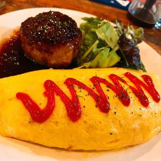 オムライス ハンバーグ(レストラン ちと )