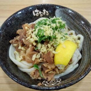牛肉おろしぶっかけ(はなまるうどん 京橋店 )