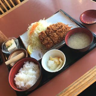 特ヒレカツ定食(とんかつ伊勢 都庁店 (とんかつ いせ))