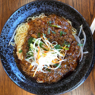四川ジャージャー麺(錦水苑)