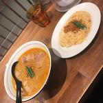 太肉チャーシューカレー坦々+カレーピラフ