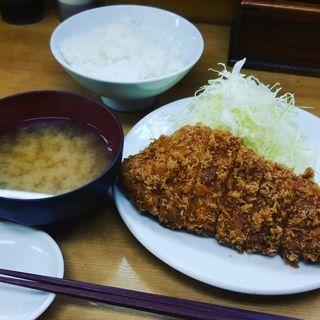 上ロースカツ定食(山家)
