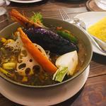 スープカレー(シーフード)(spice&cafe SidMid (スパイスアンドカフェ シドミド))