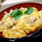 三和の純鶏名古屋コーチン特上親子丼(鶏三和 なんばウォーク店)