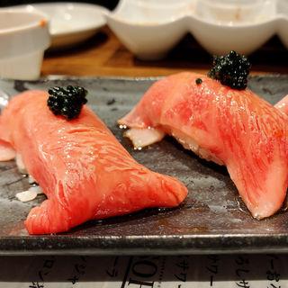 炙り肉寿司featキャビア