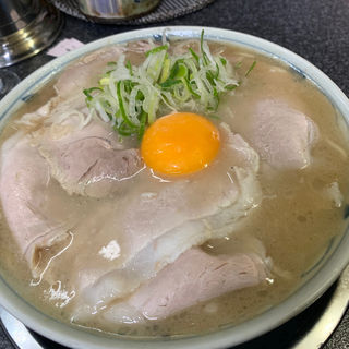 生卵入りラーメン(いちげん )