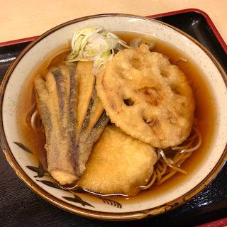 野菜天そば(そばよし)