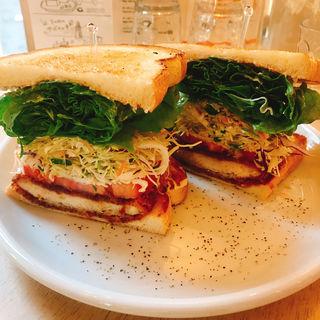 チキンカツサンド(&sandwich.)