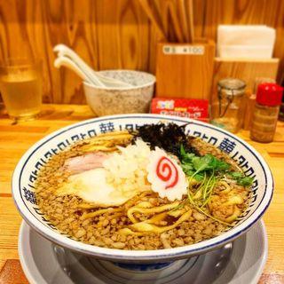 ワハハ煮干そば(中華そば ムタヒロ 堺東店)