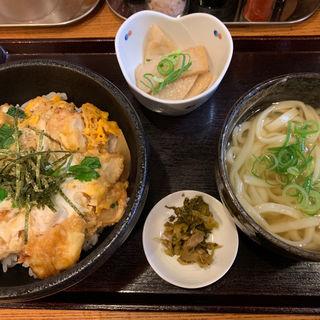 とり天親子丼セット(博多うどん居酒屋 泰吉)