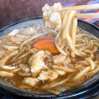 テッチャン鍋うどん定食
