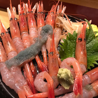 甘えび丼(いきいき亭 近江町店 )