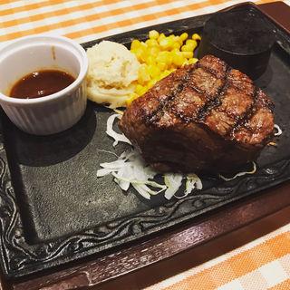 ランプ肉カタマリステーキ