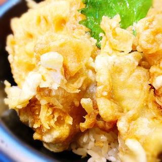 牡蠣天丼(天丼あさひ 茶屋町新御堂店 )