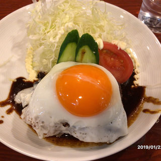 ハンバーグ定食(小古食堂 )