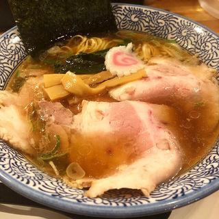 長岡生姜醤油ラーメン(麺や ぶたコング)