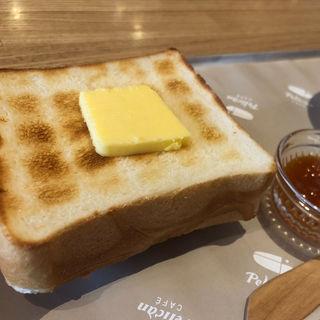 バタートーストセット(ペリカンカフェ)
