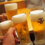 ビール(芳寿豚専門 北新地 ぎょうざ家)