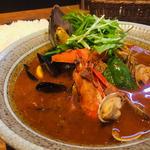 地中海カレースペシャル(スープ カレー レストラン ゴーヤ 谷山本店 (Soup Curry Restaurant GO-YA/スープカレーレストラン 剛家))