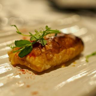 オマール海老のグラタン パイ包み焼き(お年玉コース、温菜)
