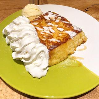 俺のフレンチトースト(俺のビストロ&bakery 心斎橋)