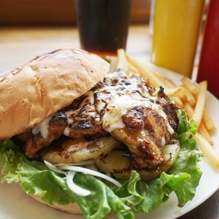 テリヤキチーズチキンバーガー キングサイズ(Son House American Diner(サンハウス アメリカンダイナー))