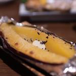 サツマイモバター焼