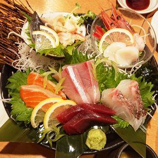 刺身大漁盛り(大)(北の家族 川崎店)