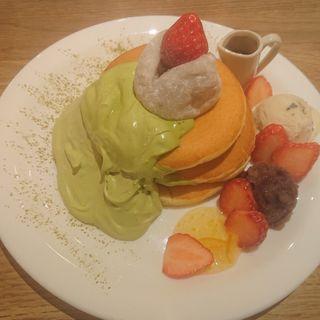 苺大福の和風パンケーキ(MOGMOG (モグモグ))